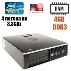 HP Compaq 8300 Elite SFF : Intel Core i3-3220 2(4)x3.3GHz / 4 GB DDR3 / 250 GB HDD