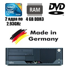 Fujitsu ESPRIMO E5731 : Intel Core 2 Duo E7500 2x2.93GHz / 4 GB DDR3 / 160 GB HDD